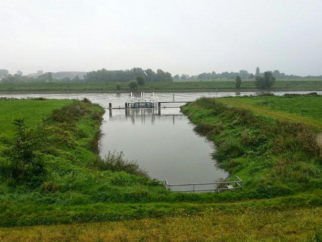 Afscherming Inlaat Linge Pannerdensch Kanaal