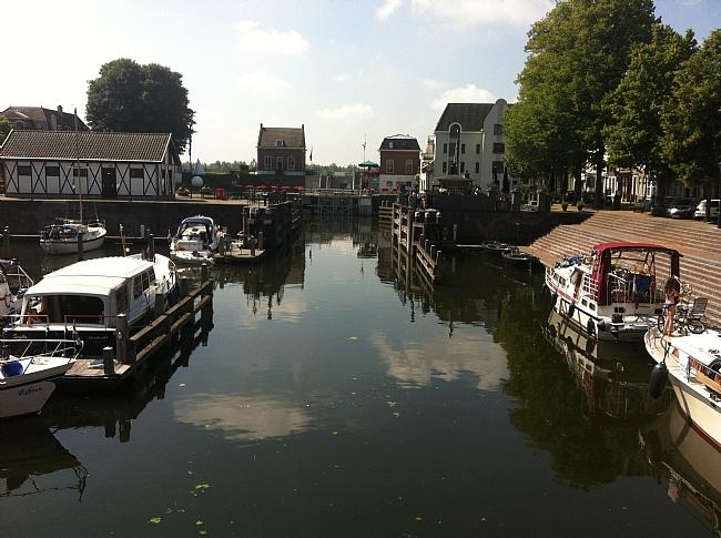 Het laatste stukje Linge in Gorinchem