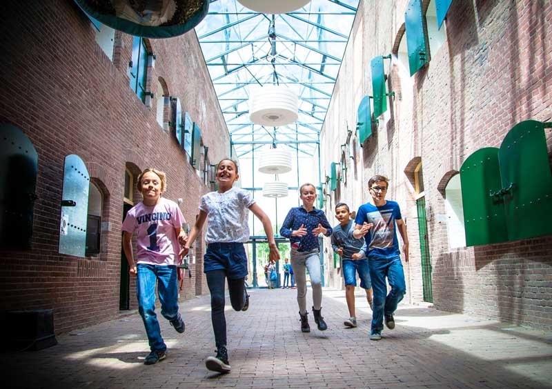 GeoFort-kids-rennen