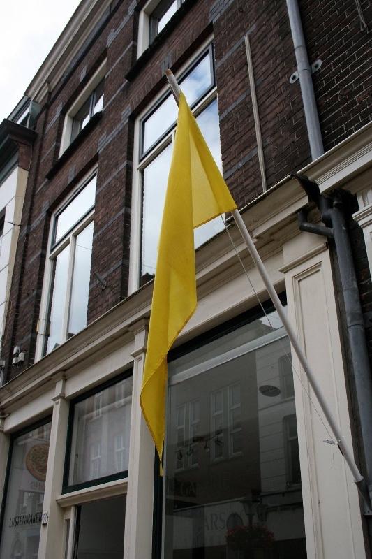 Gele-vlag-Culturele-Route-Gorinchem