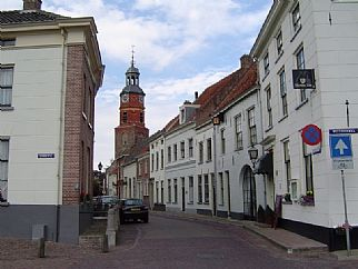 De Sint Lambertuskerk in Buren