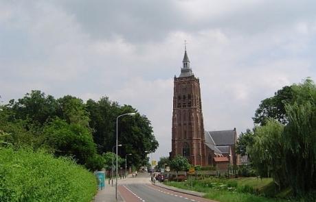 Kerktoren Gotische kerk Asperen