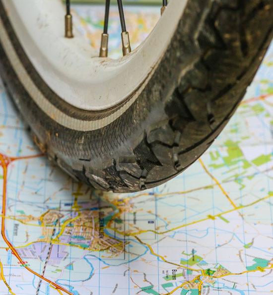 Lingeroutes fietsen door de Lingestreek (foto: Ab Donker)