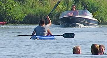 Zwemmen en Spetteren in de Lingestreek
