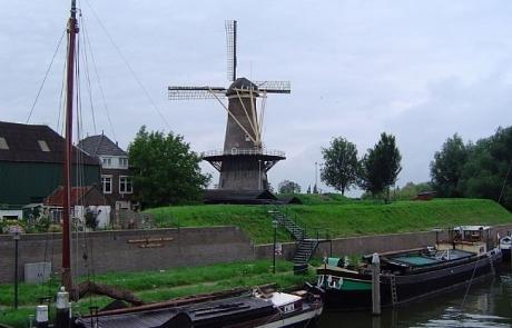 De molen Nooit Volmaakt in Gorinchem