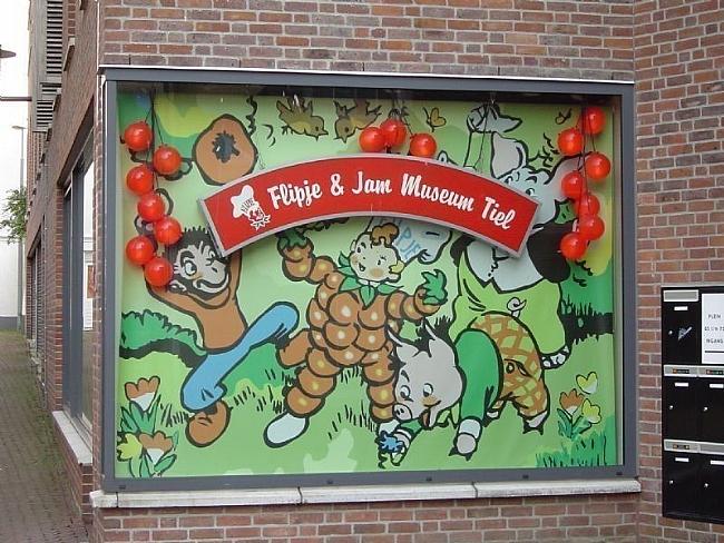 Het Flipje museum in Tiel
