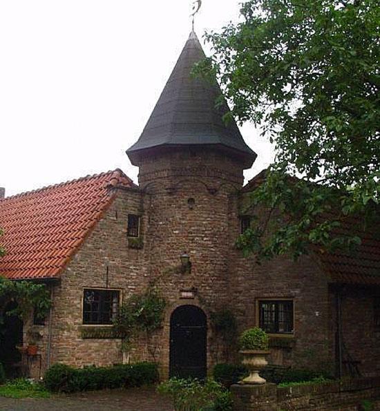 Het torentje van landgoed Noordenhoek in Deil