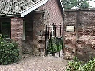 Ingang van de Kasteeltuin in Hemmen (foto: Stichting Kasteeltuin Hemmen)