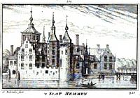 Prent van Slot Hemmen