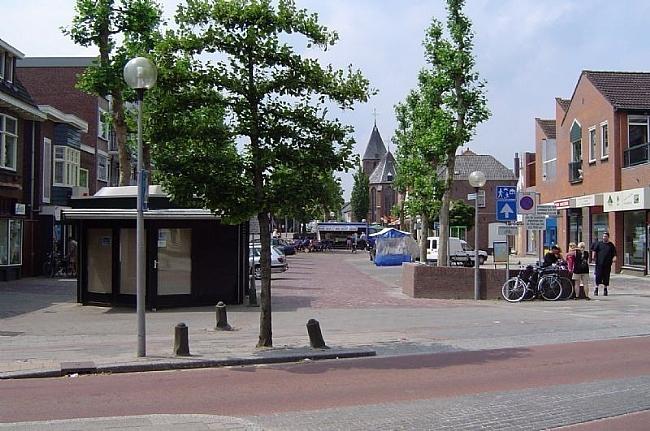 Marktplein in Geldermalsen