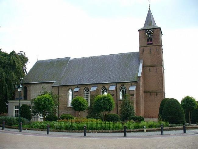 NH kerk Sint Jan de Doper in Echteld