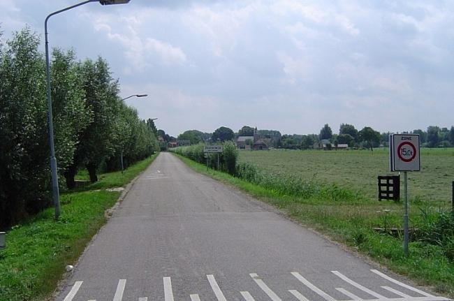 Oosterwijk bezien vanaf de Tiendweg