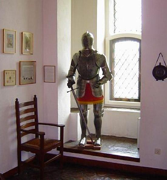 Ridder in kasteel Doornenburg