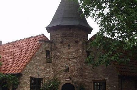 De duiventil heet 't Torentje op landgoed Noordenhoek in Deil