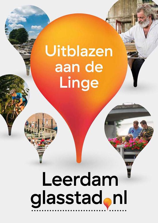 Uitblazen aan de Linge in Leerdam