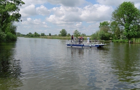 Veerpont van Heukelum naar Oosterwijk